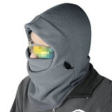 Nsstar Thermal Warm Fleece Full Mask Balaclava Cs Máscara D