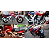 Moto Honda Cbx Twister 250 Roja