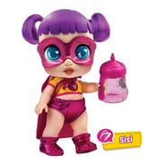 Super Cute Muñecas Heroínas Biberón C/luz -sisi- Next Point