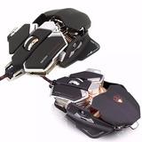 Mouse Gamer Mecanico Con Luz Led 10 Botones