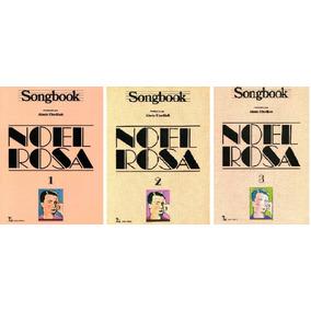 Kit Songbook Noel Rosa - Volumes 1,2 E 3 Juntos