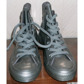 Zapatillas Plateadas.marca All Star -converse