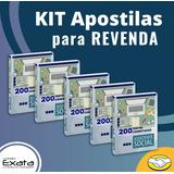 Kit 10 Apostilas Assistente Social - 200 Questões Comentadas