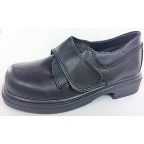 Zapato Colegial Con Abrojos De Vestir 22 Al 38 Art 3020