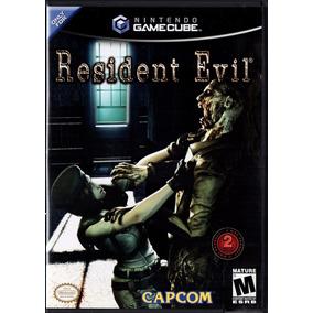 Jogo Nintendo - Game Cube (duplo) Resident Evil (completo)