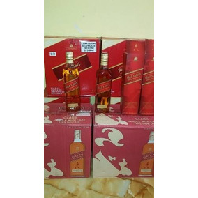 Whisky Johnnie Walker Rojo 1 Y Something Litro Por Cajas