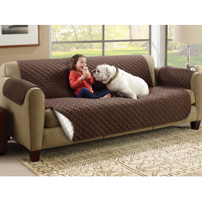 Funda Protectora Reversible Para Sofa Couch Coat Cafe
