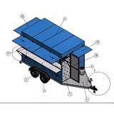 Proyecto Remolque Carretinha (food Truck) Remolque Comida