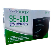 No Break Power Energy Se-500 500va 4 Contactos 25 Minutos