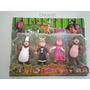 Bonecos Marcha E O Urso Kit C/ 4 Pcs Pvc Miniatura- Lindo!!