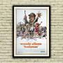 Raro Antigo Poster Cartaz Filme - Bananas , Woody Allen 1971