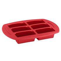 T-fal Proflex Molde 6 Mini Pasteles Proflex Color Rojo