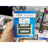 Memoria Crucial 32gb (16gbx2) Ddr3 Sodimm