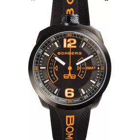 Reloj Bomberg Bolt Bs45gmtpba.026.3 100% Nuevo Y Original
