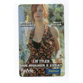 Cartão Telefônico Liv Tyler Que Mulher É Essa