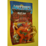 Vintage Beast Man Sellado/carded Masters Of The Universe