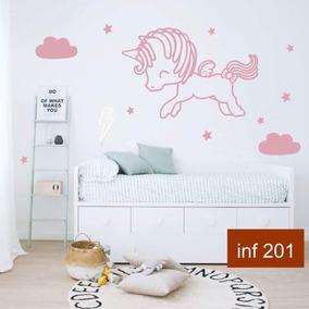 Vinilos decorativos infantiles unicornio decoraci n para for Vinilos para nenas