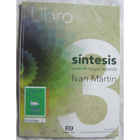 Livro Síntesis 3 # Curso De Lengua Española #ivan Martin.