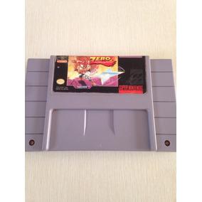 Zero The Kamikaze Squirrel Original Snes Super Nintendo