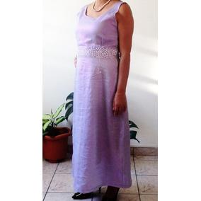 Vestido Festa Furtacor Lilás Brilhante Tam M (novo)