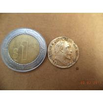 Imitacion De Moneda De Oro 1908