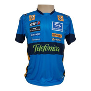 Camisa Alonso Renault - Azul Claro
