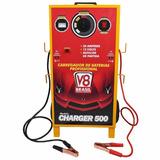 Carregador De Bateria De Carro 50 Amperes 12v - C/ Auxiliar