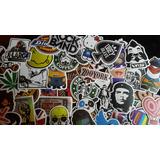 Stickers Pack 200 Pc Vinilo Skate Snowboard Entrega Inmediat