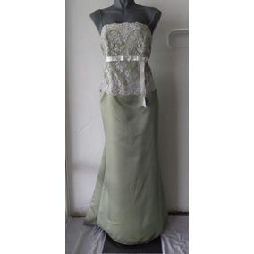 Lilasori Vestido Fiesta Importado Alexia Designs Verde T 40