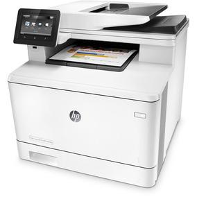 Impresora Multifunción Hp Color Laserjet Pro M477fnw