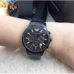 58e54fcc0e6 Caixa De Doril Fechado Masculino - Relógio Emporio Armani Masculino ...