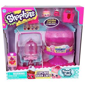 Shopkins Cupcake Queen Café Jugueteria Bunny Toys