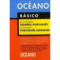 Diccionario Oceano Basico Español - Portugues - 106065