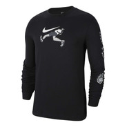 Buso Para Hombre Nike M Nk Dry Tee Ls Dfct Wild