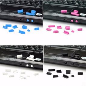 Set 13pcs Tapas Anti Polvo Silicon Protector Puertos Laptop