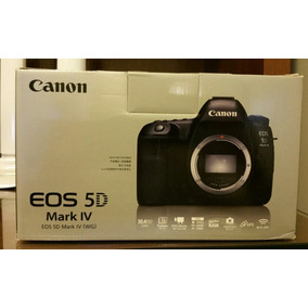 Canon 5d Mark Iv Pronta Entrega Nova