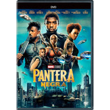 Dvd Original: Pantera Negra - Marvel Filme Novo E Lacrado