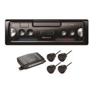 Pioneer Sxt-c10ps Auto Estereo Bluetooth + Sensores Reversa