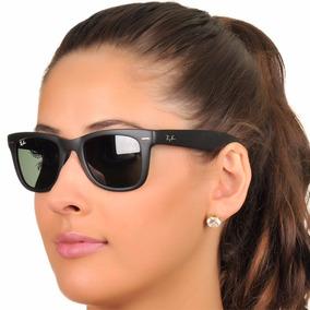 Óculos Ray Ban Wayfarer Rb2140 Preto Fosco Frete Grátis