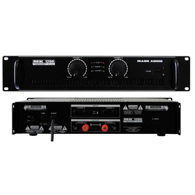 Amplificador Potência Profissional Stéreo Mk1200 200 Watts