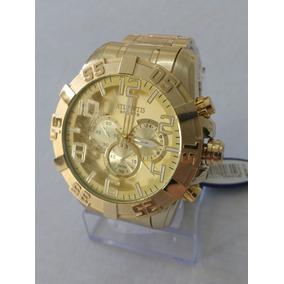 b820f320749 Relogio Atlantis Masculino Original Dourado - Joias e Relógios no ...