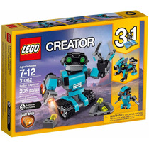 Lego Creator 31062 Robô Com Luz 3 Em 1 - Pronta Entrega