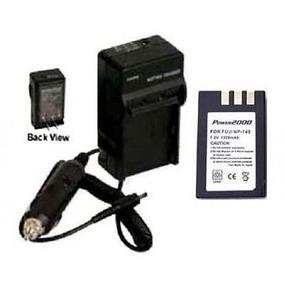 Np-140 Battery + Charger For Fuji Fujifilm Finepix S100, Fuj