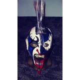 Mascara Luchador Psycho Clown Profesional Mol Original Envio
