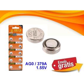 10 Pilas Boton Ag-0 Ag0 379 Sr63 Sr521sw Sr521w Lr521 Lr63
