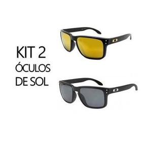b24b412447654 Kit 2 Oculos De Sol Holbrook Original Oferta Pronta Entrega · 4 cores