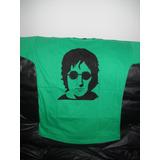 Remera De John Lennon Pintada A Mano Artesanalmente
