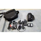 Camara De Video Sony Hdr-xr520v 240gb Entrada Micrófono