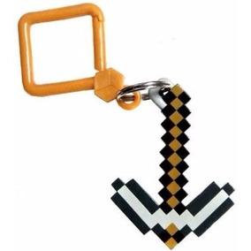 Chaveiro Minecraft Fun Pack Hangers Serie 1 Picareta Pickaxe