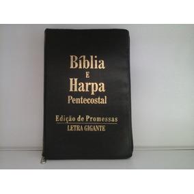 Mkb)bìblia Feminina C. Harpa L.gig (melhor Preço Merc Livre)